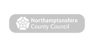 Northamptonshire County Council Logo Grey