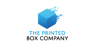 The Printed Box Company logo Colour