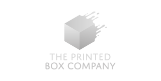 The Printed Box Company logo Grey