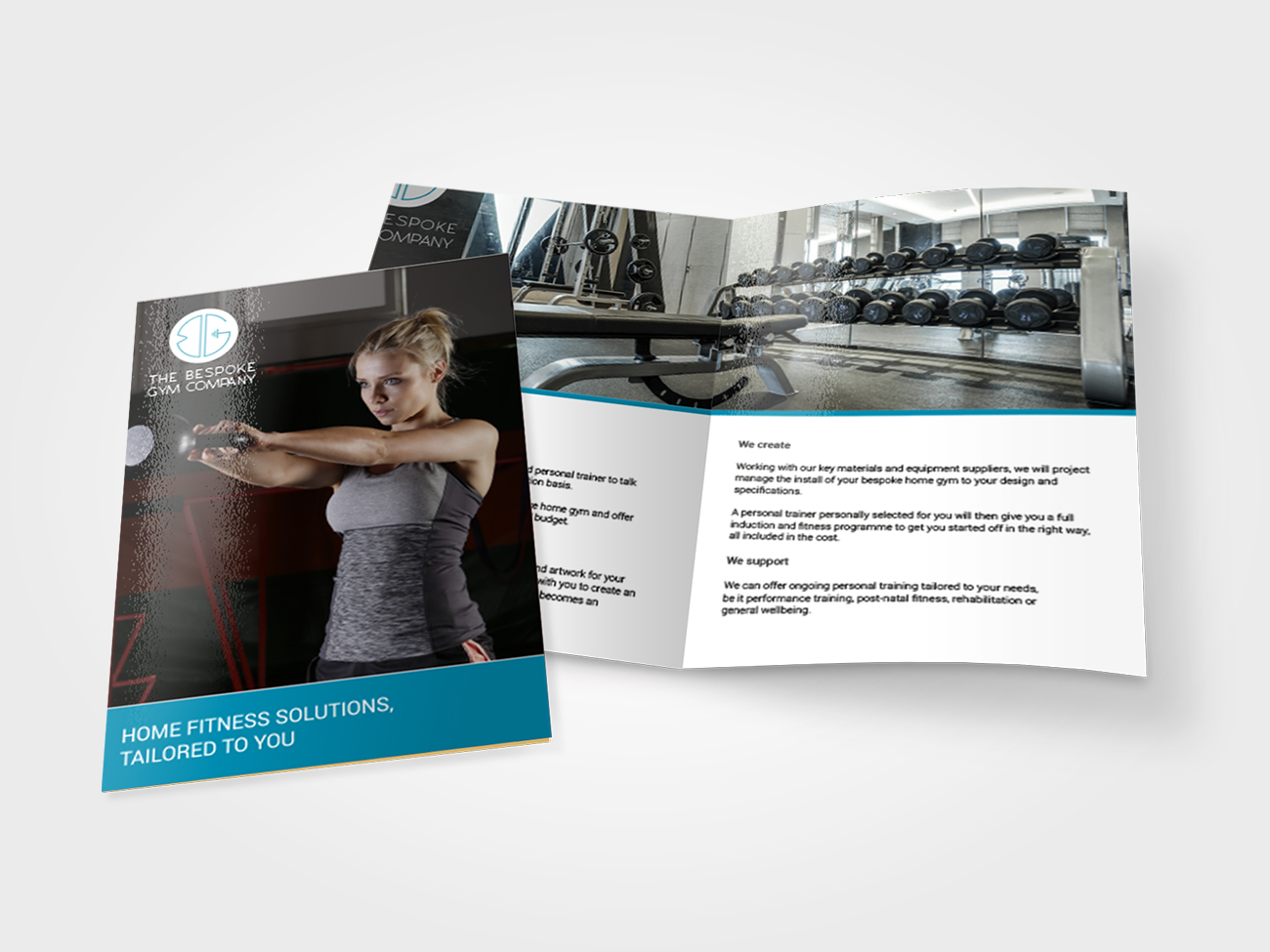 The Bespoke Gym Company Printed flyers