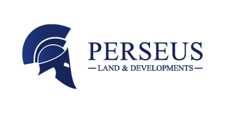 Perseus Land & Developments Logo Colour